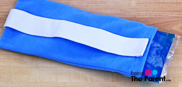 Blue icepack