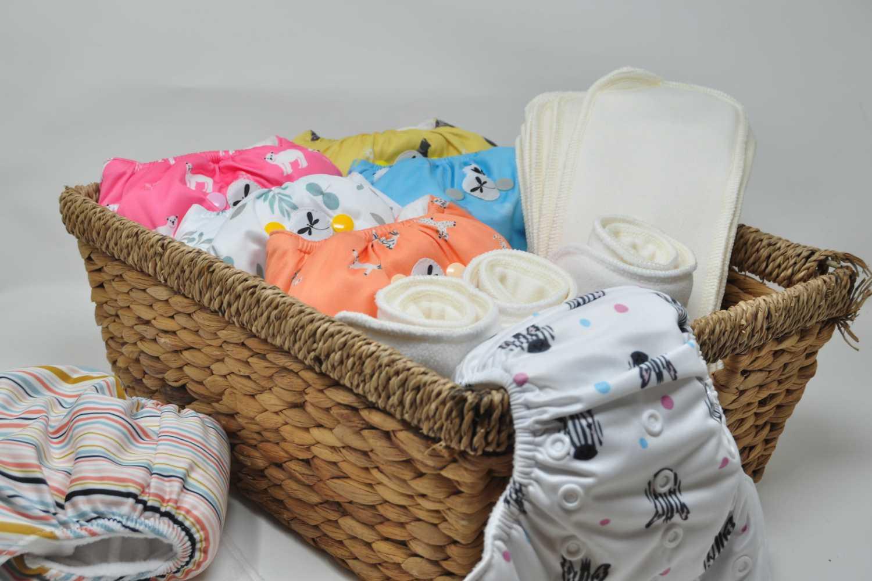 bum print baby diaper