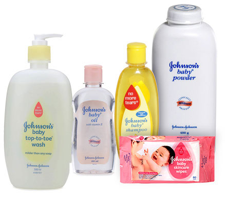 Johnson Johnson baby products brands