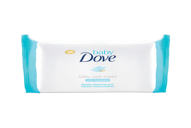 dove baby wipes