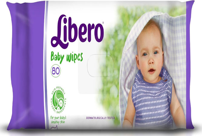libero baby wipes