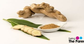 ginger to treat cold and co