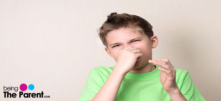 Tics disorder in a child