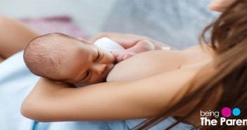 breastfeeding newborn