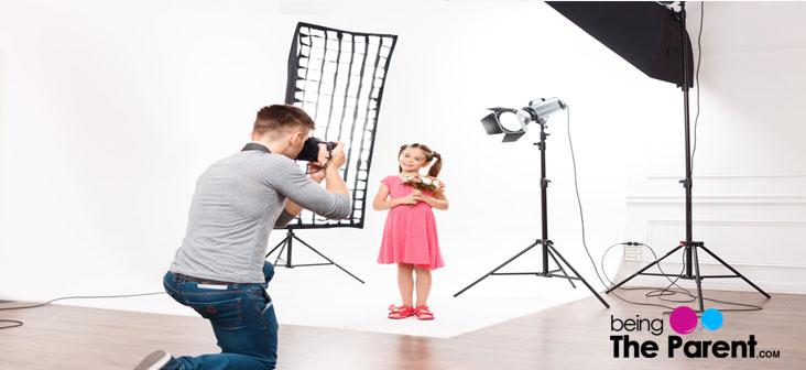 child in modeling