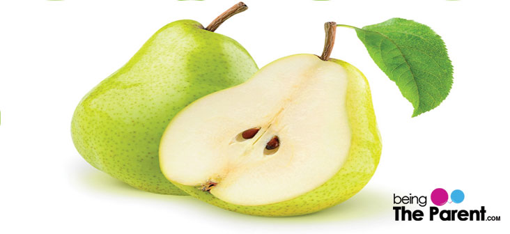 Constipation in babies pear