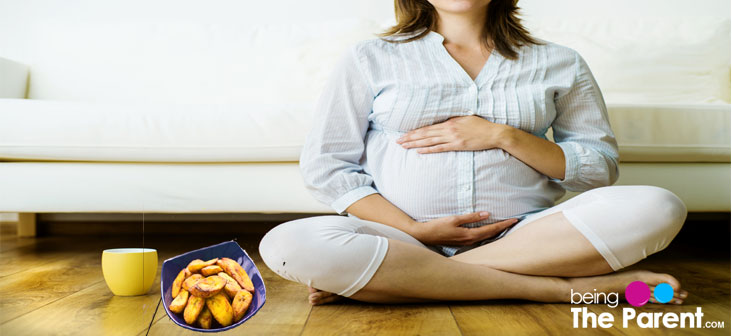 pregnancy and plantain