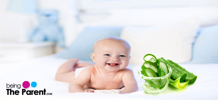 aloe vera gel for babies