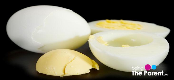 boiled egg yolk