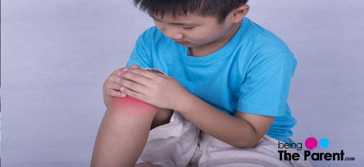 child with joint pain