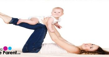 fun exercise with baby