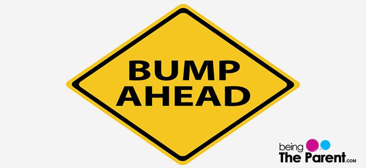 bump ahead