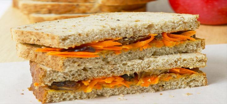 carrot peanut butter
