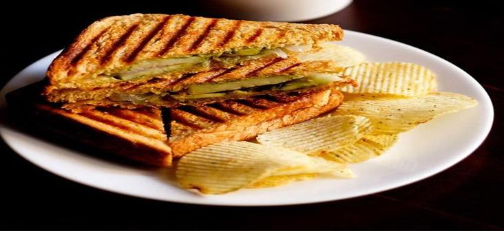 classic veg sandwich
