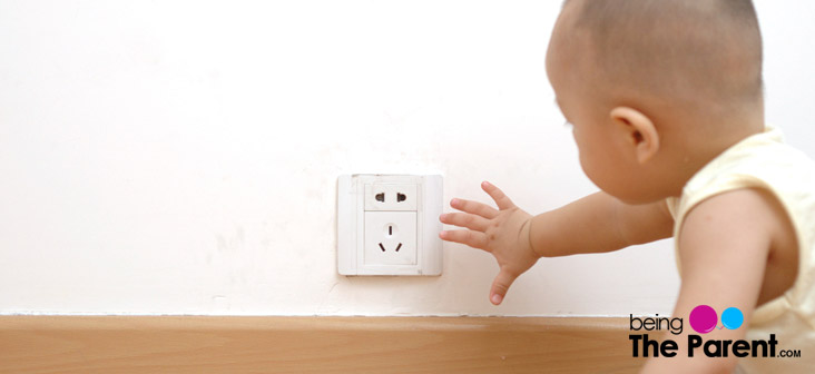 electric shock toddler
