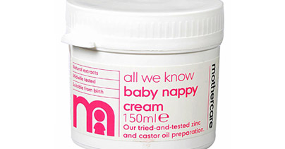 mothercare nappy rash cream