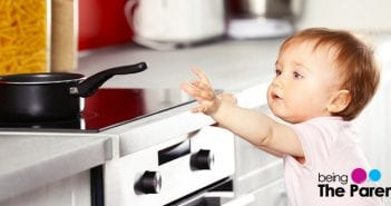 toddler emergency hot pan