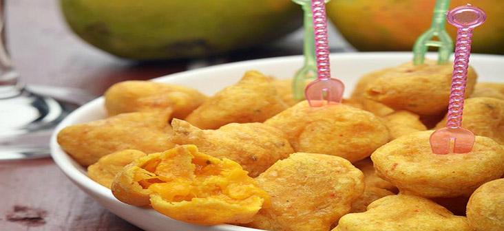 mango pakoras