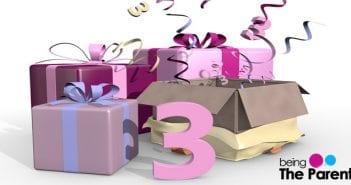 third birthday gift