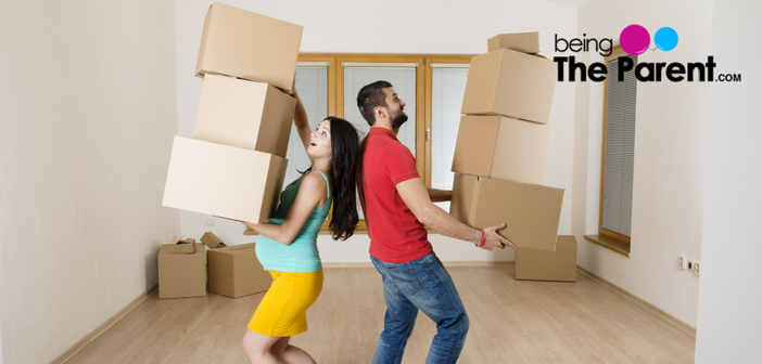 Is it safe to move furniture while pregnant