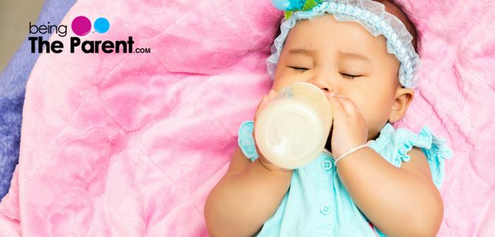 Baby Hold Bottle