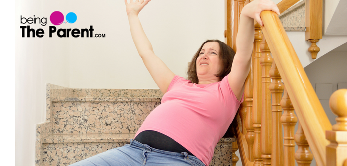 Is climbing stairs during pregnancy safe