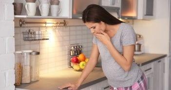 Nausea while breastfeeding