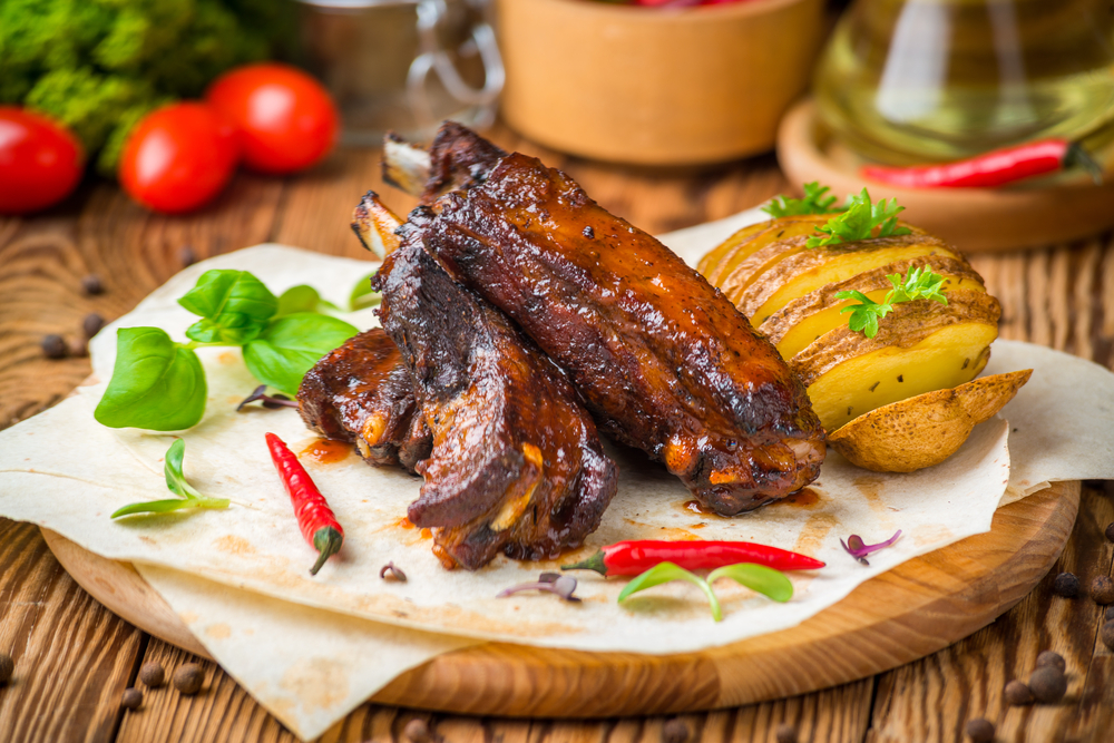 Smoked ribs for pregnant women