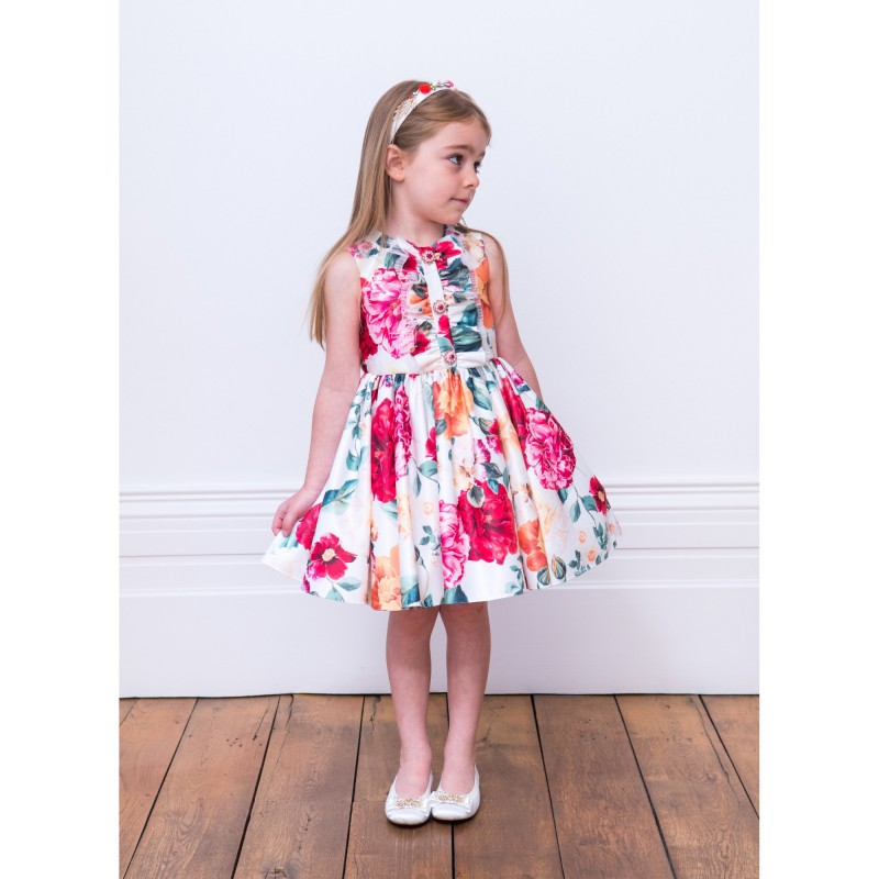 Bright Prints Dress for Baby Girls