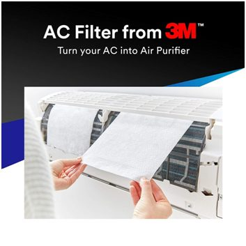 3M electrostatic air conditioner filter how to use it