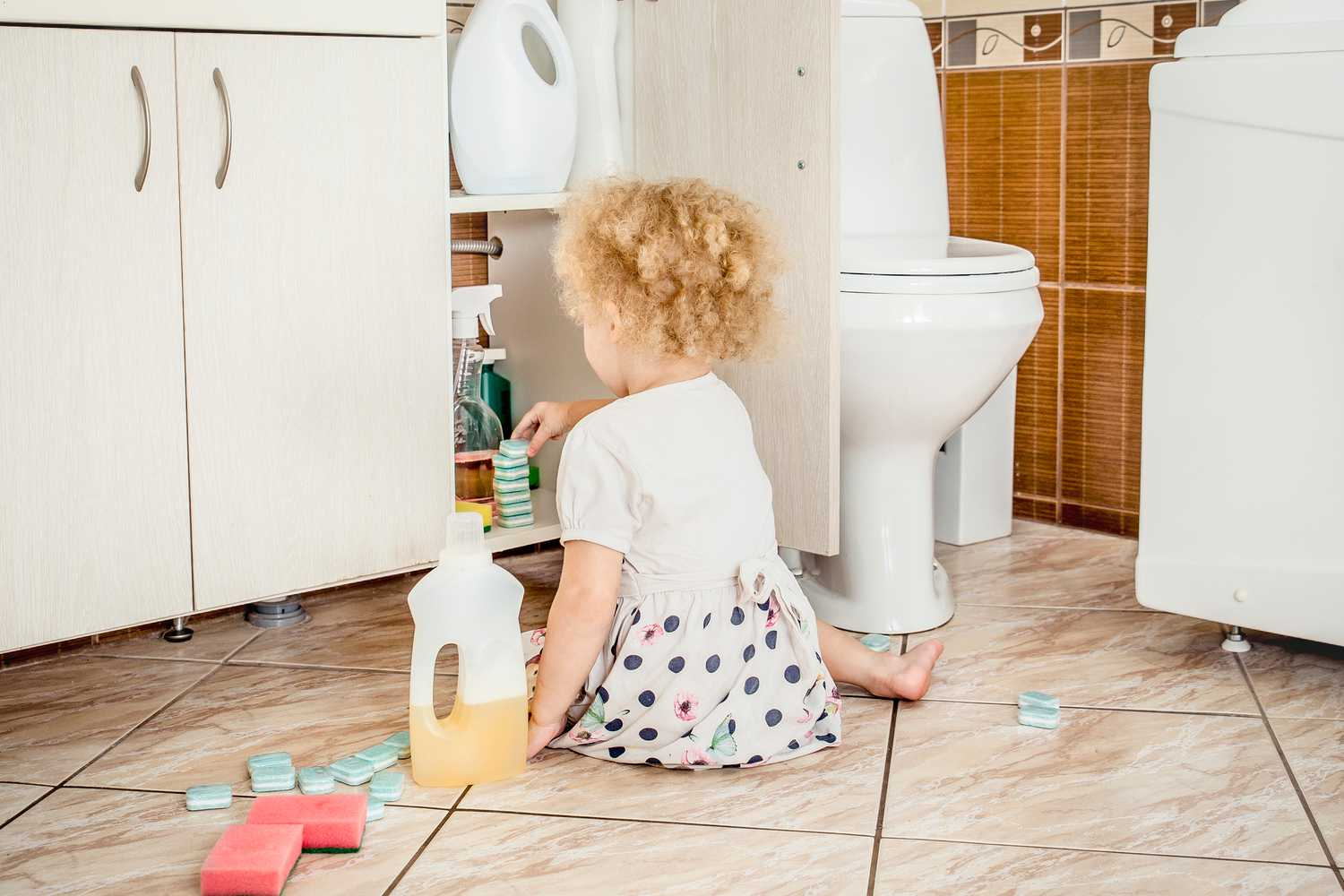Childproofing Your Home For Poisons