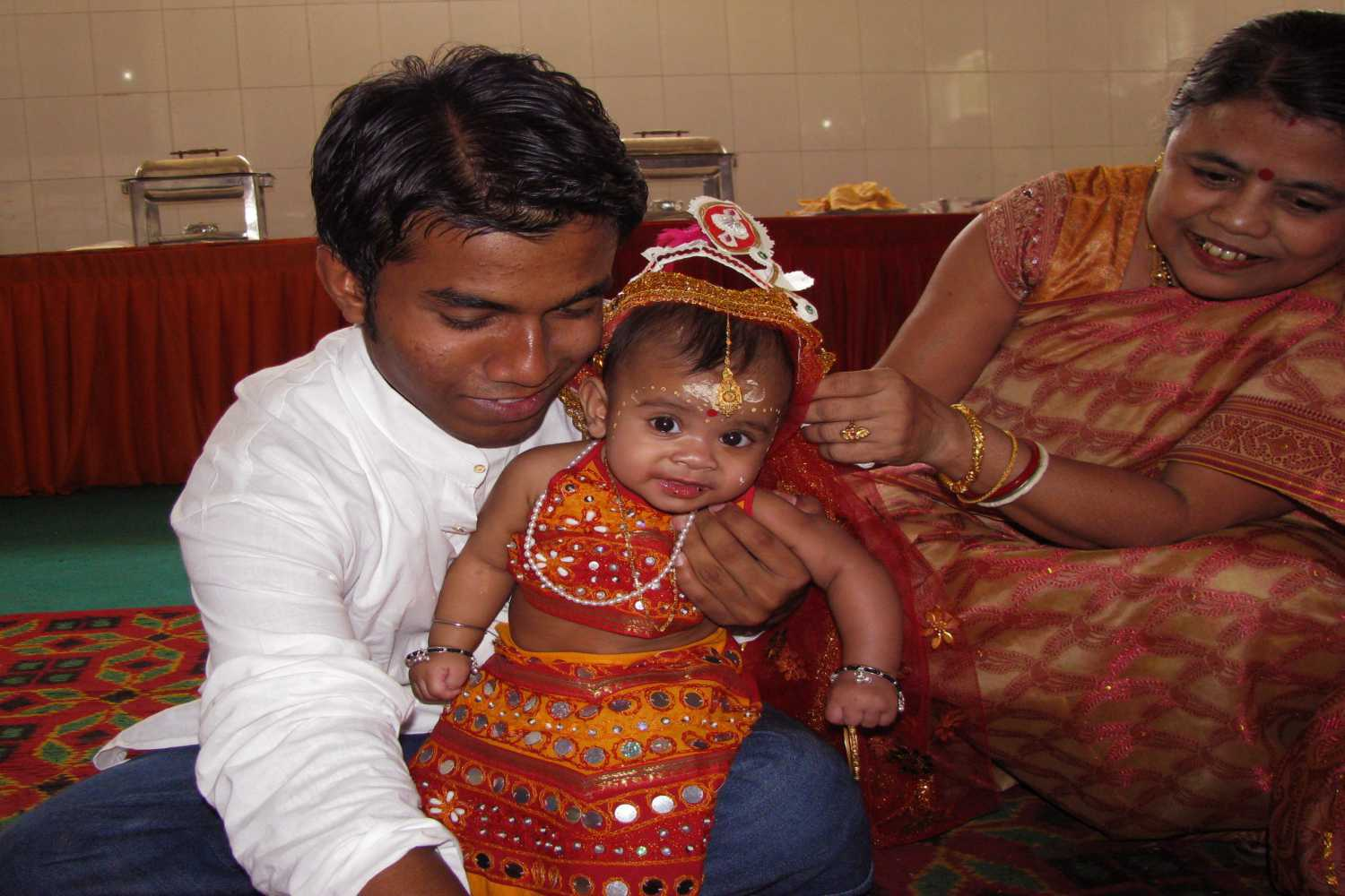 Annaprashan (First Rice-Eating Ceremony) – For Baby Boy